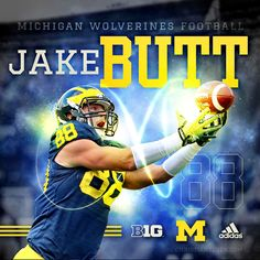 University of Michigan TE Jake Butt