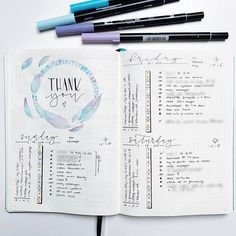 I've started this instagram page a year ago and I'm so grateful for this community, you are the best    #bulletjournal #bulletjournaling #planner #bujo
