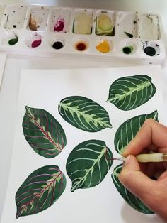Gouache Botanical Patterns – All Hands Workshops Source by Summertrends.club Hint:Use navigation … Plant Illustration, Botanical Illustration, Makeup Illustration, Watercolor Plants, Watercolor Paintings, Watercolour, Plant Painting, Painting & Drawing, Gouche Painting