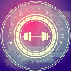 Powerhouse Gym logo  by Jess Magdefrau