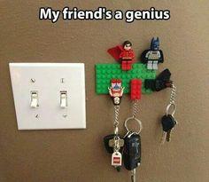 Pour ne plus perdre ses clés... ...