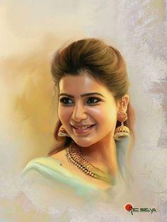 samantha painting hd