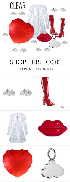 """Bring on the rain!"" by interesting-times ❤ liked on Polyvore featuring Finn, Funtasma, Moncler, Lulu Guinness and Tessa Packard"