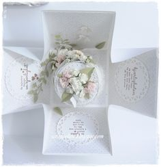 ScrappEllen: DT Cards and Well-new and beautiful lyrics to a wedding cake in a box, with tag ♥