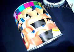 Twisty Puzzle!! I love homemade toys. This easy to make can puzzle is great. tutorial included.