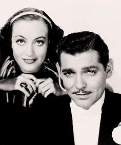 Joan Crawford and Clark Gable