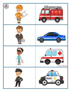 Free Transportation Printables For Kids Body Parts Preschool, Free Preschool, Preschool Printables, Preschool Learning, Preschool Crafts, Transportation Preschool Activities, Fine Motor Activities For Kids, Counting Activities, Weather Worksheets