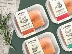 """New #plastic #packaging for J.A. Seawolf: """"By creating this product I want to tell exciting stories that are united with exquisite taste and company's heritage."""""""