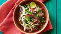 Vietnamese Beef Noodle Soup (Pho Bo) | Taste local flavor in every bite of these star recipes that define the West
