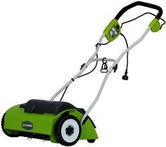 Shop a great selection of GreenWorks 27022 10 Amp 14 Corded Dethatcher/Scarifier. Find new offer and Similar products for GreenWorks 27022 10 Amp 14 Corded Dethatcher/Scarifier. Walk Behind Lawn Mower, Best Lawn Mower, Grass Cutter, Lawn Care, Lawn And Garden, Garden Grass, Amazing Gardens, Outdoor Gardens, Outdoor Power Equipment