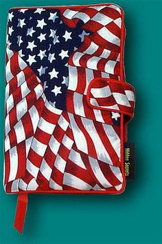 American Flag Book Cover