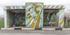 quibbll.com - Кристофер Хервиг (Christopher Herwig): Советская автобусная остановка - Узбекистан, г. Термез
