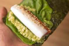Gonpachi's Harajuku location is a temaki sushi specialty shop with healthy alternatives like cauliflower rice