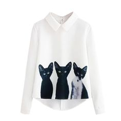 >>>Are you looking for2016 Fashion Cartoon Cat New Brand Women's Loose Chiffon Three Cats Tops Long Sleeve Girls Cute Casual Blouse Autumn Shirts2016 Fashion Cartoon Cat New Brand Women's Loose Chiffon Three Cats Tops Long Sleeve Girls Cute Casual Blouse Autumn ShirtsLow Price Guarantee...Cleck Hot Deals >>> http://id892761345.cloudns.pointto.us/32744758365.html images