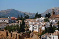 andulusian spain   ... Andalusia. Spain Photograph - View Of Ronda I. Andalusia. Spain Fine