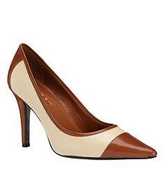 Lauren by Ralph Lauren Adley Pumps What A Girl Wants, Nude Shoes, Brown Heels, Patent Leather Pumps, Dream Shoes, Women's Pumps, Shoe Collection, Boat Shoes, Peep Toe