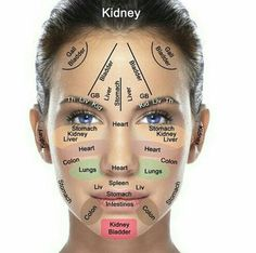 Reflexology chart of the face (for acupressure & acupuncture) Wykres refleksologii twarzy (do akupresura i akupunktura) Health And Beauty, Health And Wellness, Health Tips, Beauty Skin, Face Beauty, Beauty Makeup, Gesicht Mapping, Diy Beauty Tutorials, Face Mapping