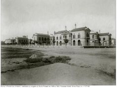 Policlinico Umberto I Old Photos, Rome, Nostalgia, Street View, Mansions, House Styles, World, Antique, Pictures