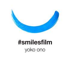 Smilesfilm by Yoko Ono