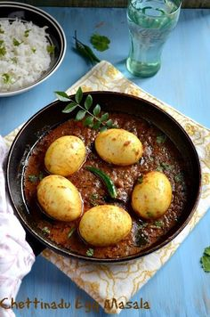 Today's recipe is a finger licking and spicy egg curry with flavorful spices.This curry goes very well with rice and roti as well. Veg Recipes, Spicy Recipes, Curry Recipes, Indian Food Recipes, Asian Recipes, Vegetarian Recipes, Chicken Recipes, Cooking Recipes, Healthy Recipes