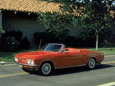 1966 Chevy Corvair Monza Convertible