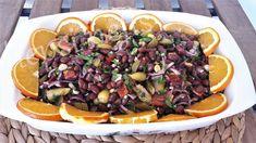 hepsi nefis: kırmızı fasulye salatası veya kırmızı fasulye piya...glütensiz beslenmek zorunda olanlar veya tercih edenler için sağlıklı bir seçenek