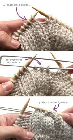 Diy Crafts - Wool Beanie with fur pom pom - Knitting Pattern & Tutorial - Crochet Beanie Hat Free Pattern, Gilet Crochet, Crochet Poncho Patterns, Knitting Patterns Free, Free Knitting, Knit Crochet, Crochet Hats, Cowl Patterns, Start Knitting