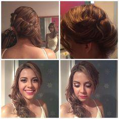 #makeup#mywork#hair