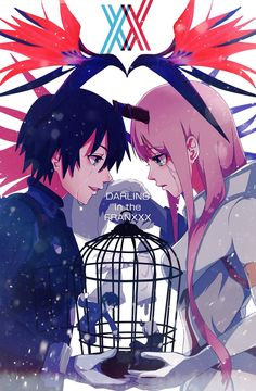 Darling In The Franxx Wallpaper, Darling In The Franxx Zero Two Darling In The Franxx Hiro Darling In The Franxx Funny Otaku Anime, Manga Anime, Manga Art, Anime Art, Anime Love, Querida No Franxx, Zero Wallpaper, Shall We Date, Zero Two