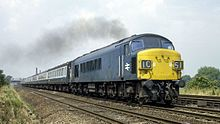 British Rail Class 45 - Wikipedia Electric Locomotive, Diesel Locomotive, British Rail, Train Journey, Train Travel, D1, Trains, Blues, Google Search