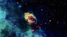 The Carina Nebula.