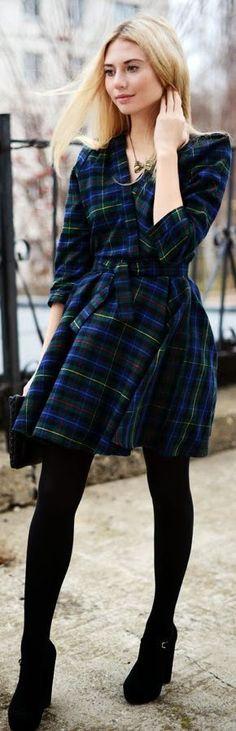 And #Tartan Again by Fashion Around