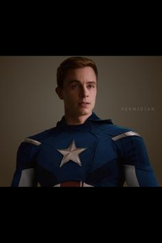 Deputy Parrish as Captain America | Teen Wolf (glad I'm not the only one who thought about this)