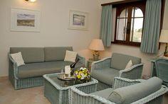 Suite with Jacuzzi - Hotel Baia di Nora, Pula Sardinia Sofa, Couch, Sardinia, Jacuzzi, Rooms, Furniture, Home Decor, Bedrooms, Settee