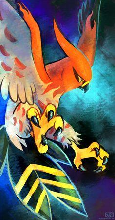 bird haychel no_humans pokemon pokemon_(game) pokemon_xy solo talonflame Mega Pokemon, Type Pokemon, Pokemon Pins, Pokemon Fan Art, Pokemon Cards, Pokemon Pokemon, Pokemon Stuff, Pokemon Fusion, Lugia