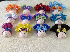 Foamy doll for hair bows!! $15.00 dz