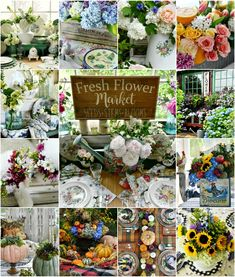 A year of flowers with a round up of DIY floral arrangements and seasonal centerpiece inspiration. You'll find flower longevity tips, short cuts and techniques to create affordable arrangements using grocery store and garden flowers. | ©homeiswheretheboatis.net #flowers #centerpieces #DIY