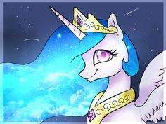 Princess Celestia, My Little Pony™ © Hasbro, Lauren Faust