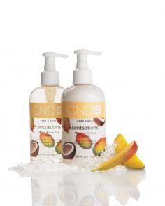 CND Hand- Bodylotion Scentsations Mango & Coconut 245ml