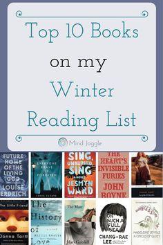 Top Ten Books on My Winter Reading List
