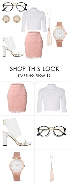 """FFLB 31"" by finestfashionlookbook ❤ liked on Polyvore featuring LE3NO, IRO, Larsson & Jennings, Oasis and Kate Spade"