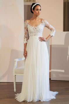 Anne Barge - New York Bridal Fashion Week  / bridal style hair and makeup / TEAM Hair and Makeup