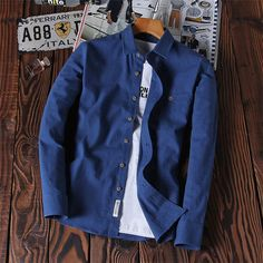 Check out Solid Color Oxfor... today! http://www.digdu.com/products/solid-color-oxford-men-shirt-casual-brand-clothing-2017-new-arrival-camisa-masculina-social-long-sleeve-fashion-shirts-4xl-n1212?utm_campaign=social_autopilot&utm_source=pin&utm_medium=pin
