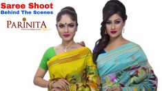 E-Commerce Saree Photoshoot Behind the Scenes for www.parinita.co.in