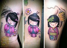 kokeshi tattoo - Recherche Google