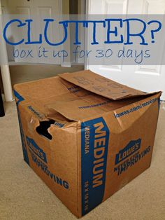 Get Rid of Clutter and Simplify your Life at Home