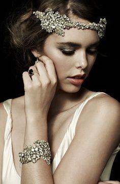 Inject Glamour with a Johanna Johnson Headpiece
