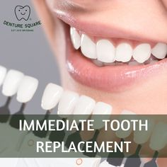 Denture Square, #brisbane looks forward to hear from you for immediate single tooth replacement services. Call us at- +07 3189 7085 . . #dentist #dentistry #dental #dentaltechnician #dentallab #dentallaboratory #denturesquare #brisbane #dentalhygienist #oral #health #dentures #partialdenture #toothreplacement #toothreplacements #toothreplacementoptions #toothreplacementwithin24hr Dental Technician, Tooth Replacement, Dental Group, Dental Laboratory, Oral Health, Dentistry, Brisbane, Clinic