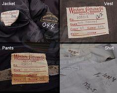 Wild Wild West, The (TV) / James West Costume (Robert Conrad) | ScreenUsed.com