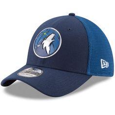 Minnesota Timberwolves New Era On-Court 39THIRTY Flex Hat - Navy